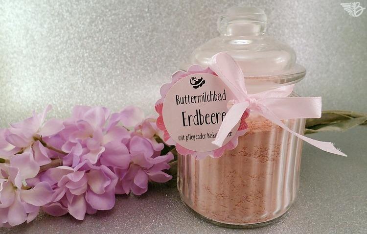 Soapcottage Buttermilchbad Erdbeere