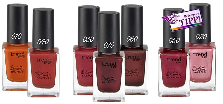 dm trend IT UP the metallics nagellacke
