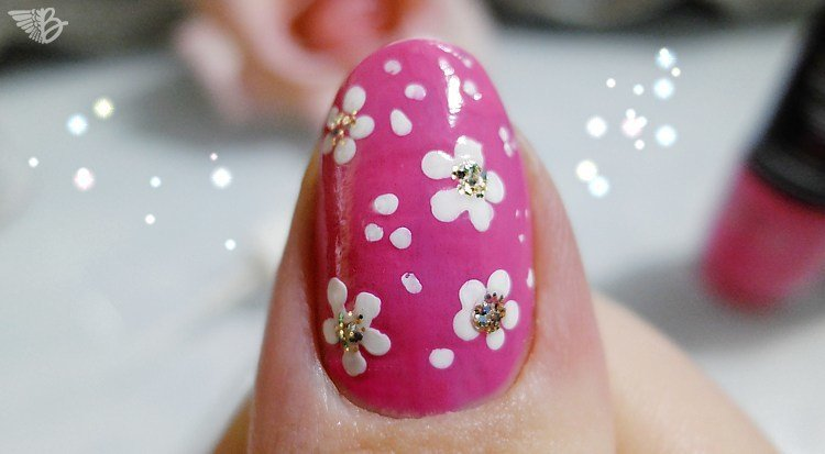 NailArt flowers