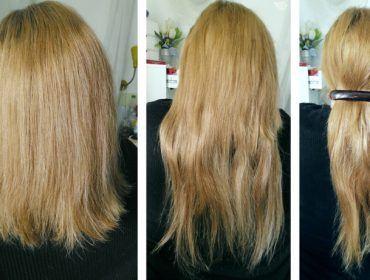 Lange Haare über Nacht