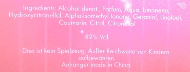 inhaltsstoffe daniela Katzenberger parfum magic kiss