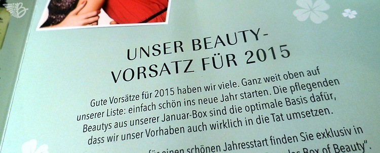 Douglas Box of Beauty Januar 2015