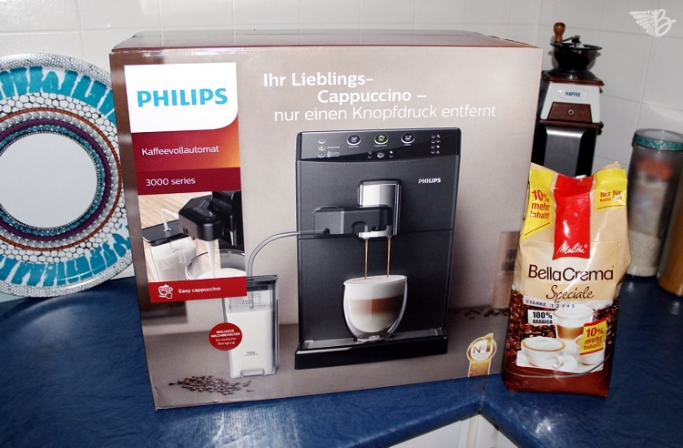 karton Philips Easy Cappuccino 3000