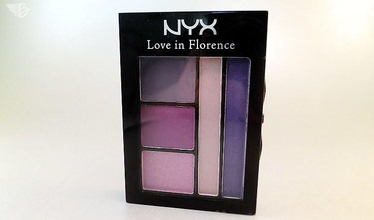 NYX Love in Florence Lidschattenpalette