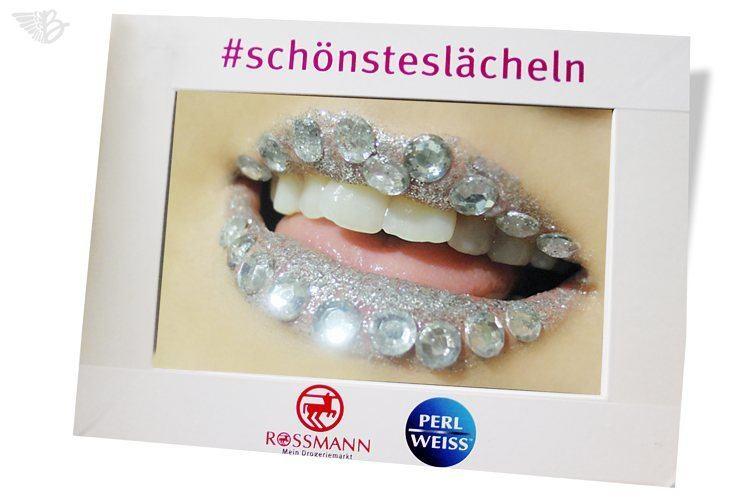 Mein #schönsteslächeln mit Perlweiss Schönheits Zahnweiss
