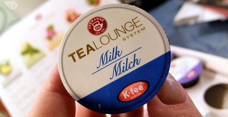 TEEKANNE TEALOUNGE System Milk