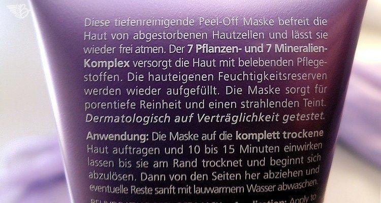 peeloff-maske