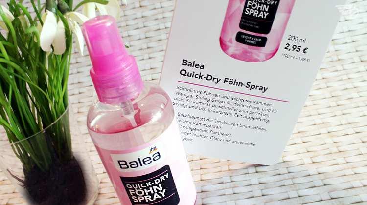 balea quickdry-föhnspray