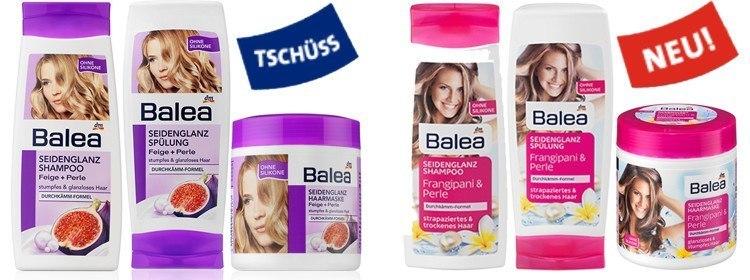 Balea Haarpflege Produkte seidenglanz
