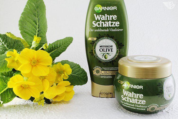 """Garnier Wahre Schätze """"Mythische Olive"""" Pflegeserie"""