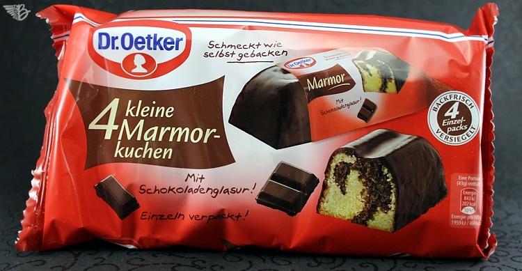 Dr Oetker Kleiner Ruhrkuchen In Schoko Marmor Zitrone