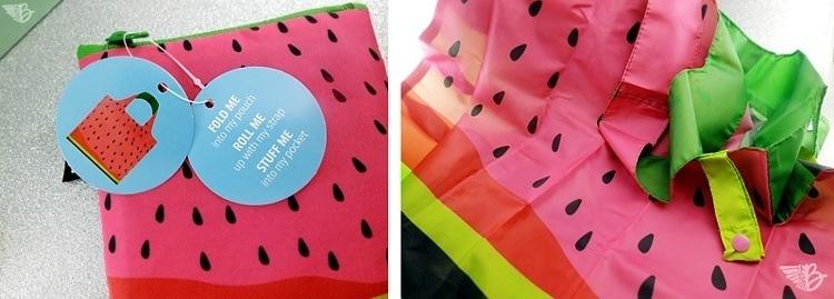LOQI Frutti Watermelon Tasche - Doubox Juni 2015