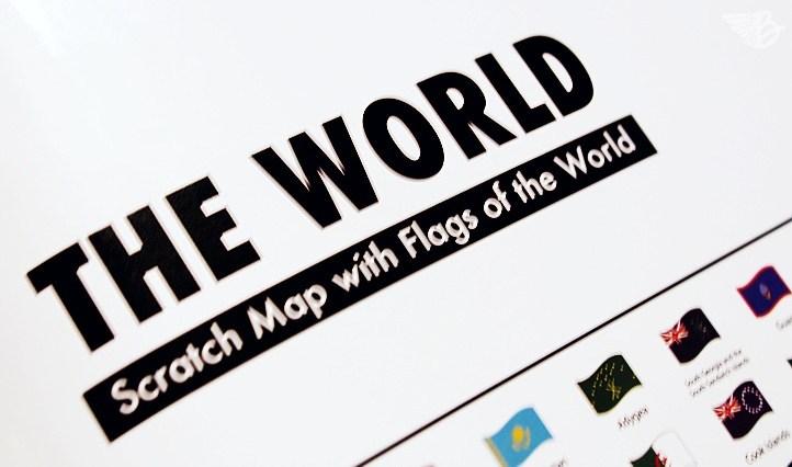 theworld Rubbelweltkarte