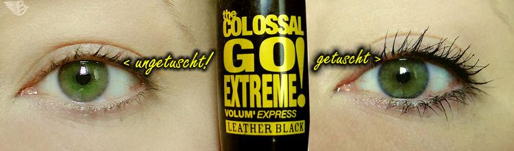 Maybelline Colossal Go Extreme Leather Black Mascara