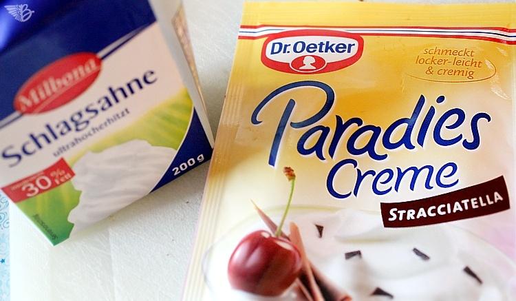 zutaten-zu Schoko Kirsch Torte